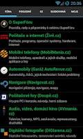 Screenshot of SuperFórum.cz
