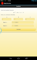 Screenshot of Math Pro Free
