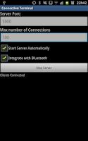 Screenshot of Connection Terminal