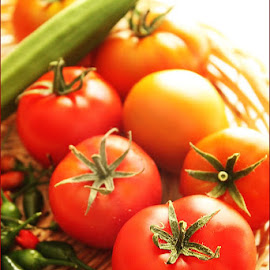 Veggies from our garden by Vrinda Mahesh - Food & Drink Fruits & Vegetables (  )