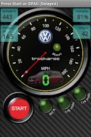 Screenshot of VW Speedo Dynomaster Layout