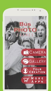 My Photo on Bus Frame - screenshot