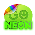 Green neon theme GO SMS Pro icon