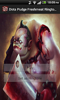 Screenshot of Dota Pudge Fresh Meat Ringtone