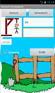 German Swedish Hangman - screenshot