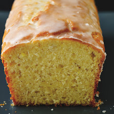 "Lemon ""Yogurt"" Pound Cake with a Tangy Citrus Glaze"