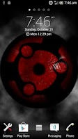 Screenshot of Sharingan Live Wallpaper