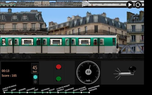 Paris Métro Simulator