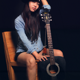 Anna by Nuno Raditya - People Musicians & Entertainers
