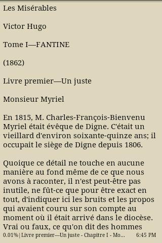 Les misérables Tome I Fantine