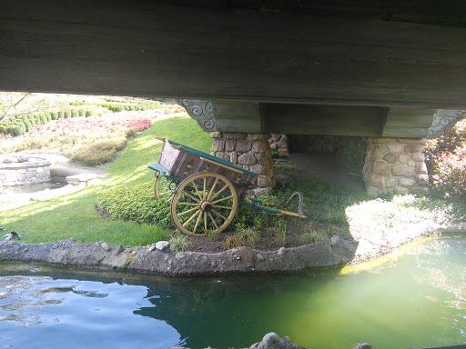 Disney Wagon Under Bridge