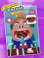 Screenshot of Kids Throat Doctor
