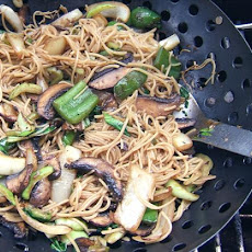 Wok-Grilled Vegetable Lo Mein