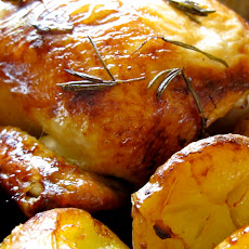 Rosemary Citrus Roast Chicken