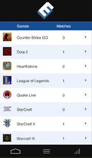 MobeSports - eSports Scoring - screenshot