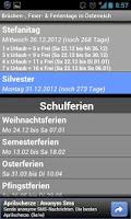 Screenshot of Brücken-& Feiertage Österreich