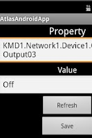 Screenshot of KMC Android App