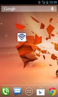 Screenshot of Temporary Wifi Widget