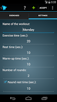 Screenshot of Wrkout Pro (HIIT, Tabata)