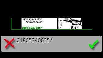 Screenshot of OCR Caller