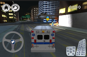 Screenshot of emergency ambulance simulator