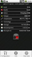 Screenshot of Battery Saver Widget