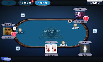 Screenshot of Texas Poker Face