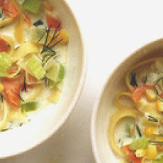 Smoked Salmon and Corn Chowder