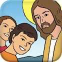 Children's Bible Birth Jesus icon