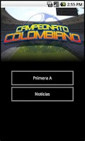Screenshot of Fútbol Colombiano