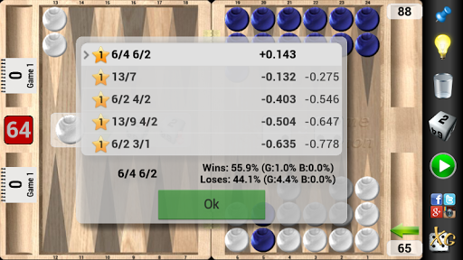 XG Mobile Backgammon - screenshot