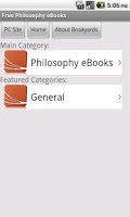 Screenshot of Philosophy eBooks