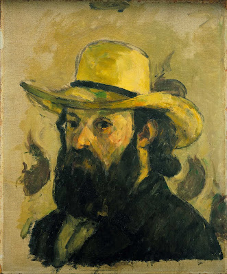 Cézanne Paul, Autoritratto