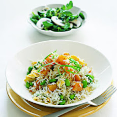 Watercress and Mushroom Salad with Lime Vinaigrette