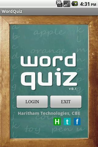 Knowledge Word Quiz