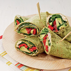 Veggie Ranch Wraps