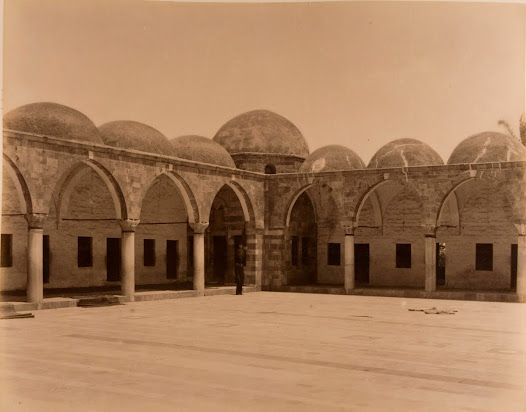 Interior of the Mosque and Mausoleum of Hashim in Gaza