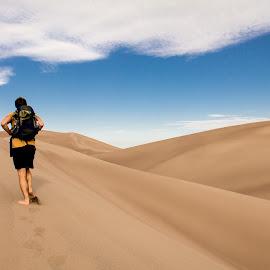 Sand Dunes np by Sjoerd Storchart - Landscapes Deserts