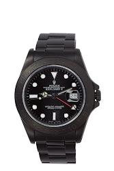 Black Limited Edition Matte Black Limited Edition Rolex Explorer Ii Watch