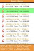 Screenshot of Step Counter