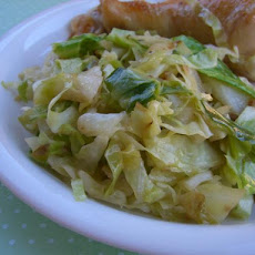 Sauteed Green Cabbage