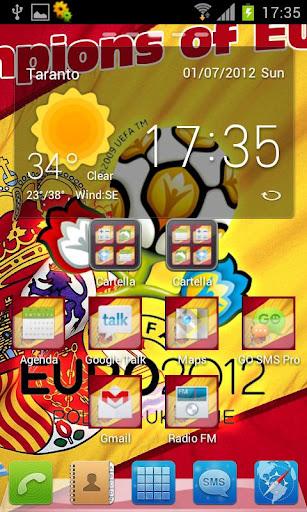 西班牙2012年主題GO 新
