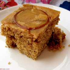 Applesauce Buttermilk Spice Cake
