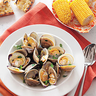 Grilled Clams with Garlic