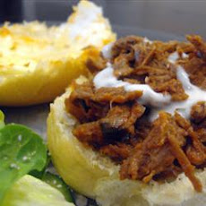 Barbecue Beef for Sandwiches