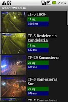 Screenshot of Tenerife Webcam