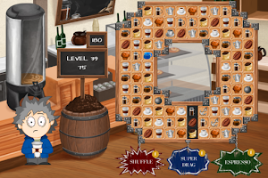 Screenshot of Coffee Addict: Match 3