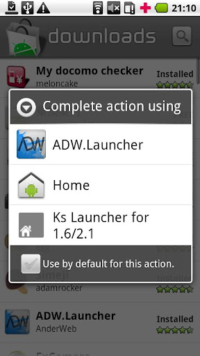 home-switcher-for-froyo for android screenshot