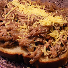 Slow Cooker Chuck Roast Barbecue