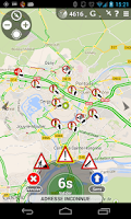 Screenshot of Glob - GPS, Traffic & Radar